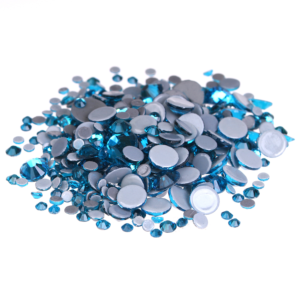Crystal Hotfix Rhinestones For Nails ss6-ss30 And Mixed Dark Aquamarine Strass Nail Art Glass Stone Glitter Decoration Design rakesh kumar tiwari and rajendra prasad ojha conformation and stability of mixed dna triplex