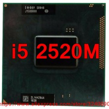 Процессор lntel Core i5 2520M SR048(3 м кэш/2,50 ГГц/двухъядерный) i5-2520M процессор для ноутбука