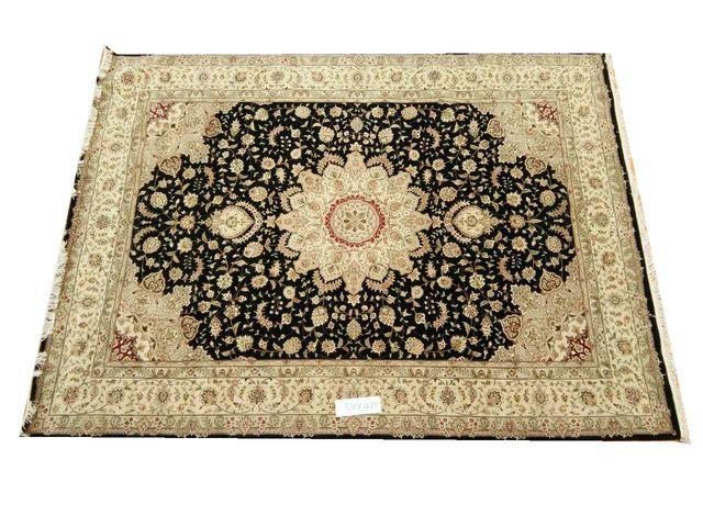 персидский ковер тебриз ручной работы из шелка и шерсти восточных