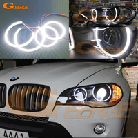 For BMW X5 E70 2007 2008 2009 2010 Xenon Headlight Excellent Angel Eyes Ultra Bright Illumination