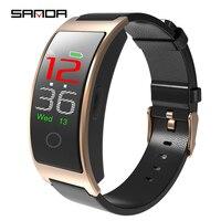 SANDA Smartwatch Men Women Bluetooth Heart Rate Monitor Bracelet Blood Pressure Fitness Tracker Smart Band Sport Watch Wristband
