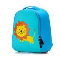 עיצוב בעלי החיים אריה חמוד ארנב פעוטות קיד גן תיק בית ספר בגיל רך תרמיל כלב מצויר 1-3 שנות בני בנות