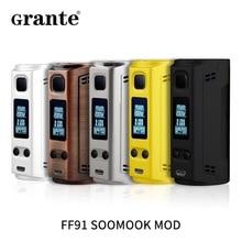 Оригинал FF91 SOOMOOK 200 Вт TC поле mod электронная сигарета пара с OLED экрана поддержки 18650 Батарея жидкостью vape mod