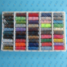 New 50X Spools Multi Colors Overlocking Polyester Sewing Maching Thread 200 Yard