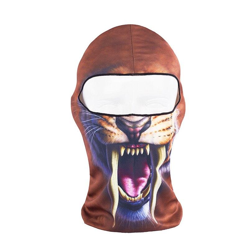 Hot New 3D Animal Face Mask Sports Cap Bicycle Cycling Fishing Motorcycle Masks Balaclava Halloween Full Face Mask