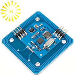 RC522 moduł czytnika RFID seryjny 13.56 mhz czytnik kart IC MFRC522 moduł RF złącze
