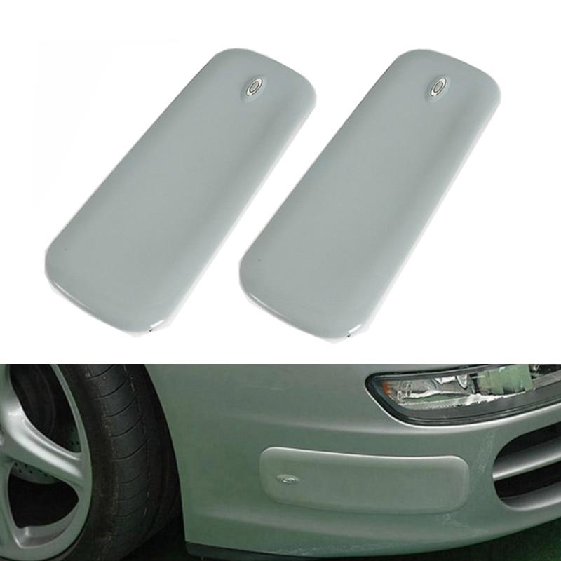 Car Bumper Protector Black Anti-rub Strip Bumper Body Corner Protector Guard 2PC