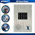 Doorbell With Intercom Wired Doorbell Door Access Control System IP Door Phone