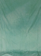 Solid light green dyed muslin hand tie-dyeing photography backdrop for photo studio portrait photographic background MG-3128