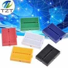 Tzt SYB-170 mini solderless protótipo tábua de pão 170 tie-points 35*47*8.5mm para arduino kit diy