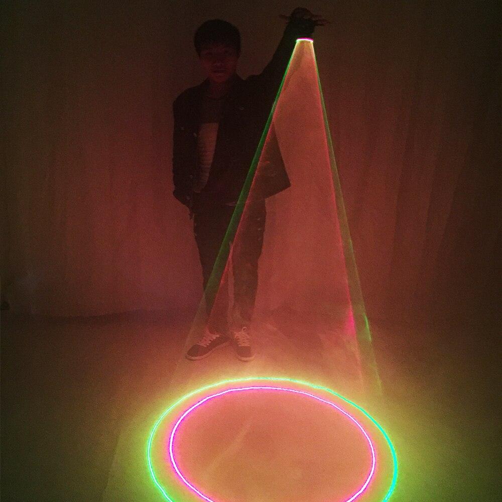 Hot Sale Laser Vortex Gloves Auto Green Rotating Vortex Laser Glove for Dance Party DJ Club Laser Show