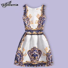 New Girls Brand Dress Children Cute Cartoon Imperial Crown Print Vest Dresses Kids Teenage Princess Casual Party Costumes