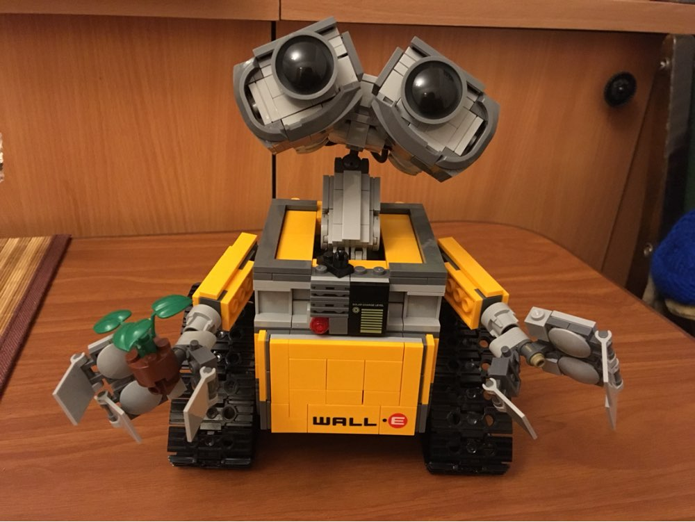 New Wall E 21303 WALLE Ideas Robot Building Blocks Sealed Model Pixar Kit