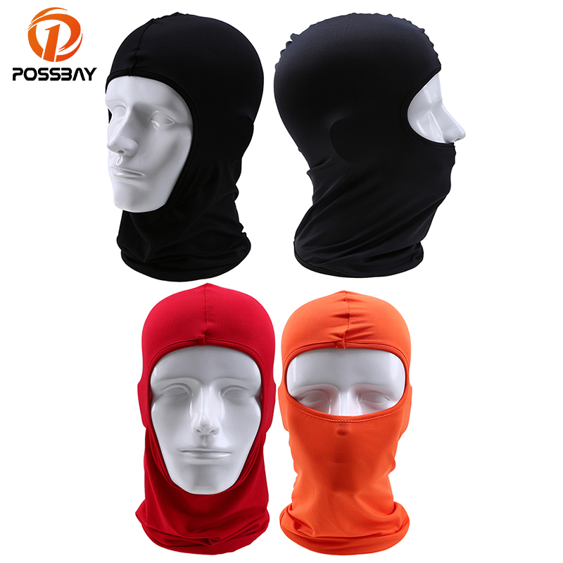 POSSBAY Winter Oudoor Bicycle Full Face Mask Cycling Windproof Motorcycle Face Mask Hat Neck Helmet Cap Sports for Men Women