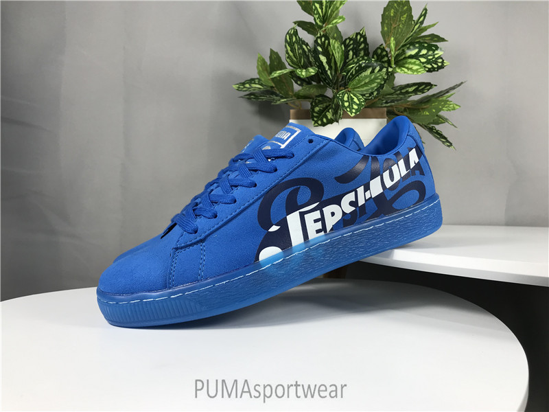Original New Arrival PUMA SUEDE CLASSIC X PEPSL Man s Sneakers Badminton  Shoes Size 39-44 9b4a724f8