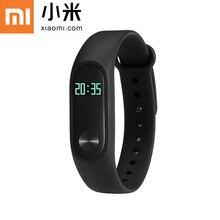 EN la ACCIÓN!! nuevo 100% original xiaomi mi banda 2 miband pulsera con pantalla oled de pulso del ritmo cardíaco fitness touchpad inteligente