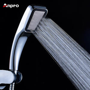 Anpro Handheld Shower Water Saving Hand Shower Head Filter