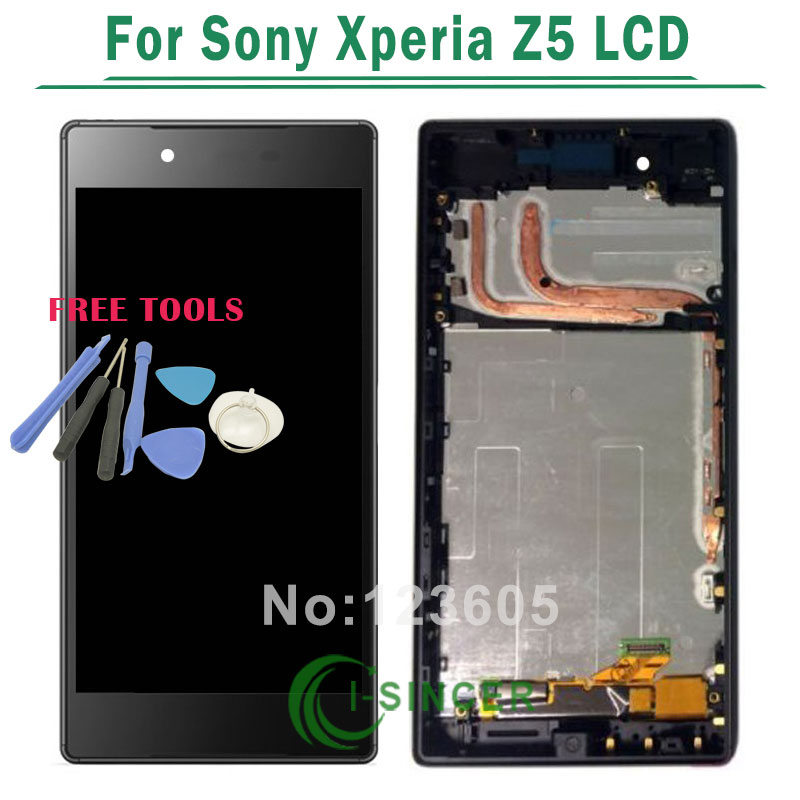 Подробнее о Black/White LCD Display +Touch Screen Digitizer Assembly with Frame For Sony For Xperia Z5 E6603 E6653 +Tools Free Shipping for sony xperia t3 m50w d5102 d5103 d5106 lcd display with touch digitizer frame assembly by free shipping white