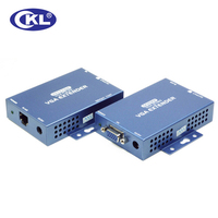 CKL 100 150 300 Meter VGA Audio Extender Over Cat5e With 1 5m Cable Support VGA