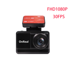 car DVR Nello OnReal Q1CGW dual lens 1080P dash camera wifi GPS 2.45 inch IPS screen video recorder