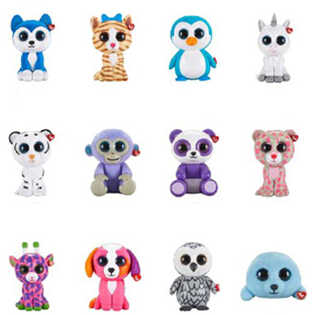 c0fc8dce0f0 Ty Beanie Boos Blind Box 1pcs Random Mini Boos Collectible Hand Painted  With Checklist Toys Unicorn Tiger Animal 6cm Owl Doll