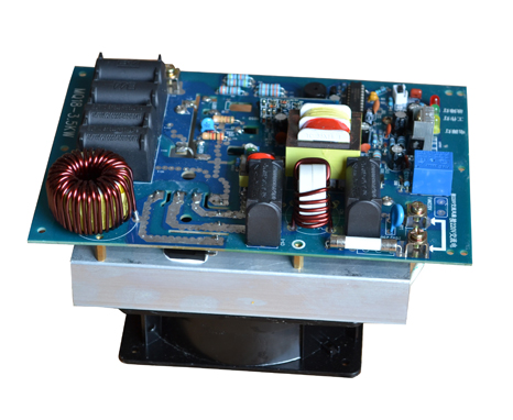 3000W electromagnetic heating control panel the electromagnetic heater induction heating control panel