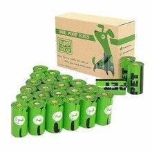 Пакеты для уборки за собакой Earth-Friendly 24/48 рулонов 360/720 отсчетов 15 микрон зеленый OXO-Biodegradable Unscented Cat отходов мешки для мусора сумка