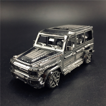 MMZ MODEL NANYUAN 3D Metal model kit 1:50 BZS G500 Off-road vehicle Assembly Model DIY 3D Laser Cut Model puzzle toys for adul