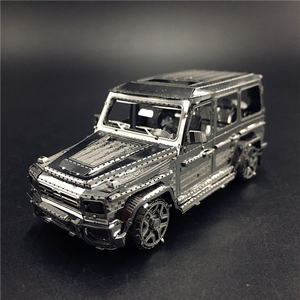 MMZ MODEL NANYUAN 3D Metal model kit 1:50 BZS G500 Off-road vehicle Assembly Model DIY 3D Laser Cut Model puzzle toys for adul(China)