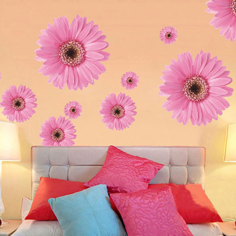 Amazing Hot Pink Living Room Wall Mold - Wall Art Collections ...