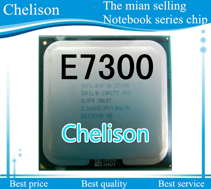 Best quality For Intel Core 2 Duo Processor E7300 2 66GHz 1066 3M font b 775