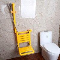 Нескользящие безбарьерной ванная комната перила висит душ стул пожилых отключена для беременных женщин нейлон Ванна стула