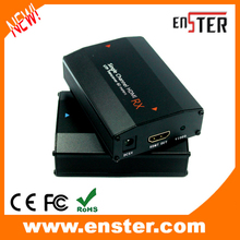 1 channel Passive CCTV Equipment HDMI Balun Help HDMI 1.three/HDCP1.1 & 1.2  UTP 150m Transmission Distance