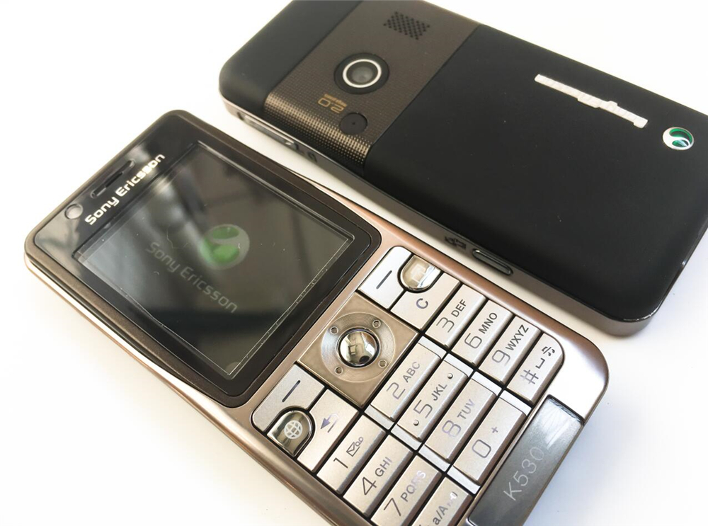 Refurbished phone Original Sony Ericsson K530 Unlocked Cell Phone 2MP Camera Bluetooth red 3
