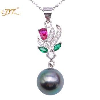 03168af4d7b4 JYX clásico regalo de Año Nuevo de perlas estilo barroco 8x11-8x13mm  Multi-color natural barroco collar de perlas de agua dulce