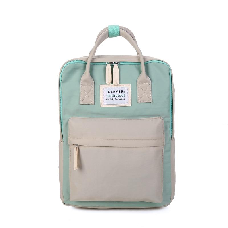 Multifunction women backpack fashion youth korean style shoulder bag laptop backpack schoolbags for teenager girls boys travel