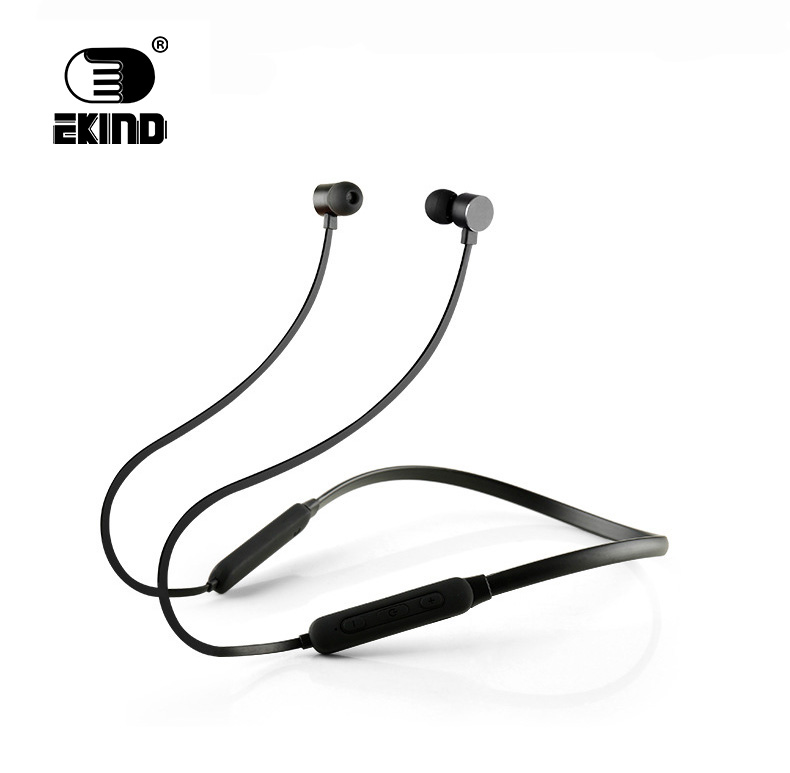 EKIND Headphones IPX5 Waterproof Earbuds Sports Wireless Earphones Lightweight Neckband Magnet Headset With Mic for Bluetooth