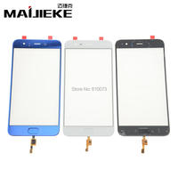 MAIJIEKE Original Screen Front Outer Glass With Fingerprint For Xiaomi 6 Mi6 Mi 6 Touch Panel
