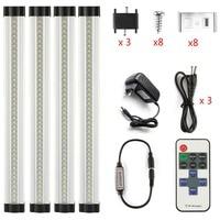 DMXY LED Bar Light Seamless Connecting Rigid LED Strip Smd2835 LED Kitchen Light Under Cabinet Closet