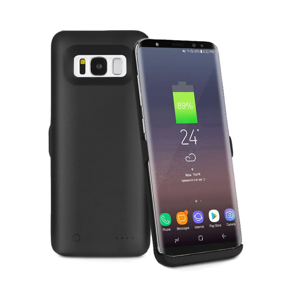 5000MAH External Battery Charger Case Backup Travle Mobile Phone Battery Charger Case for Samsung Galaxy S8