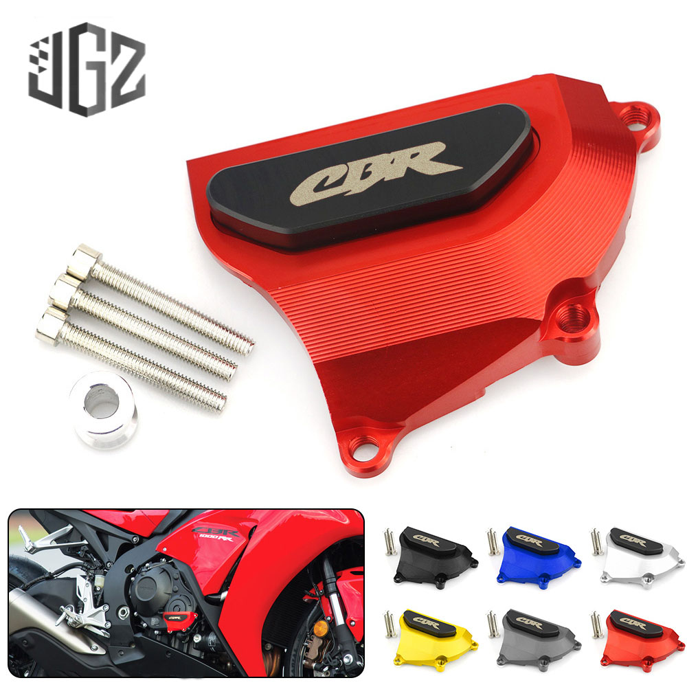 For HONDA CBR1000RR 2008-2017 Motorcycle CNC Aluminum Engine Cover Frame Protector Guard Slider Crash Pad Shield Accessories Red