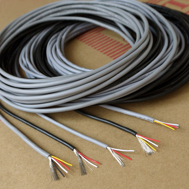 26awg 4cores Ul2547 Multicores Controlled Cable Shielding