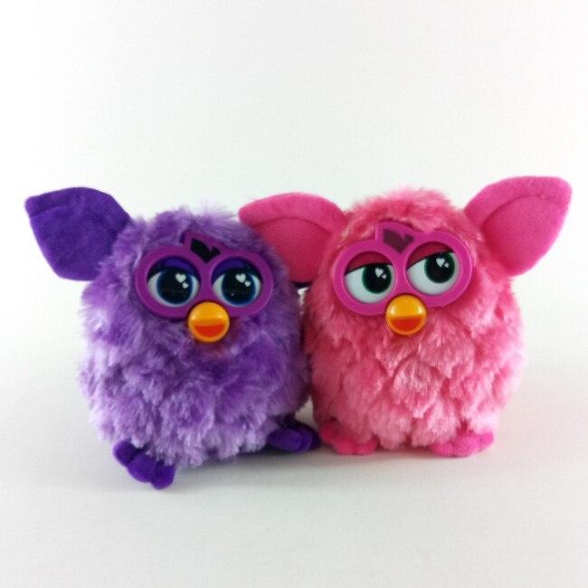 Neue ankunft Elektronische Interaktive Spielzeug Phoebe Firbi Haustiere Eule Elfen Plüsch Aufnahme Reden Intelligente Spielzeug Geschenke Furbiness boom