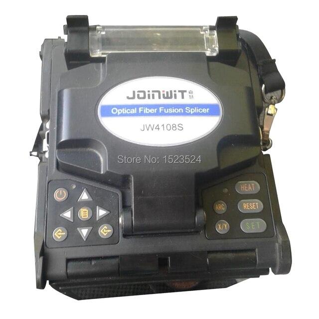 JW4108S 자동 FTTH 광섬유 광섬유 융착기