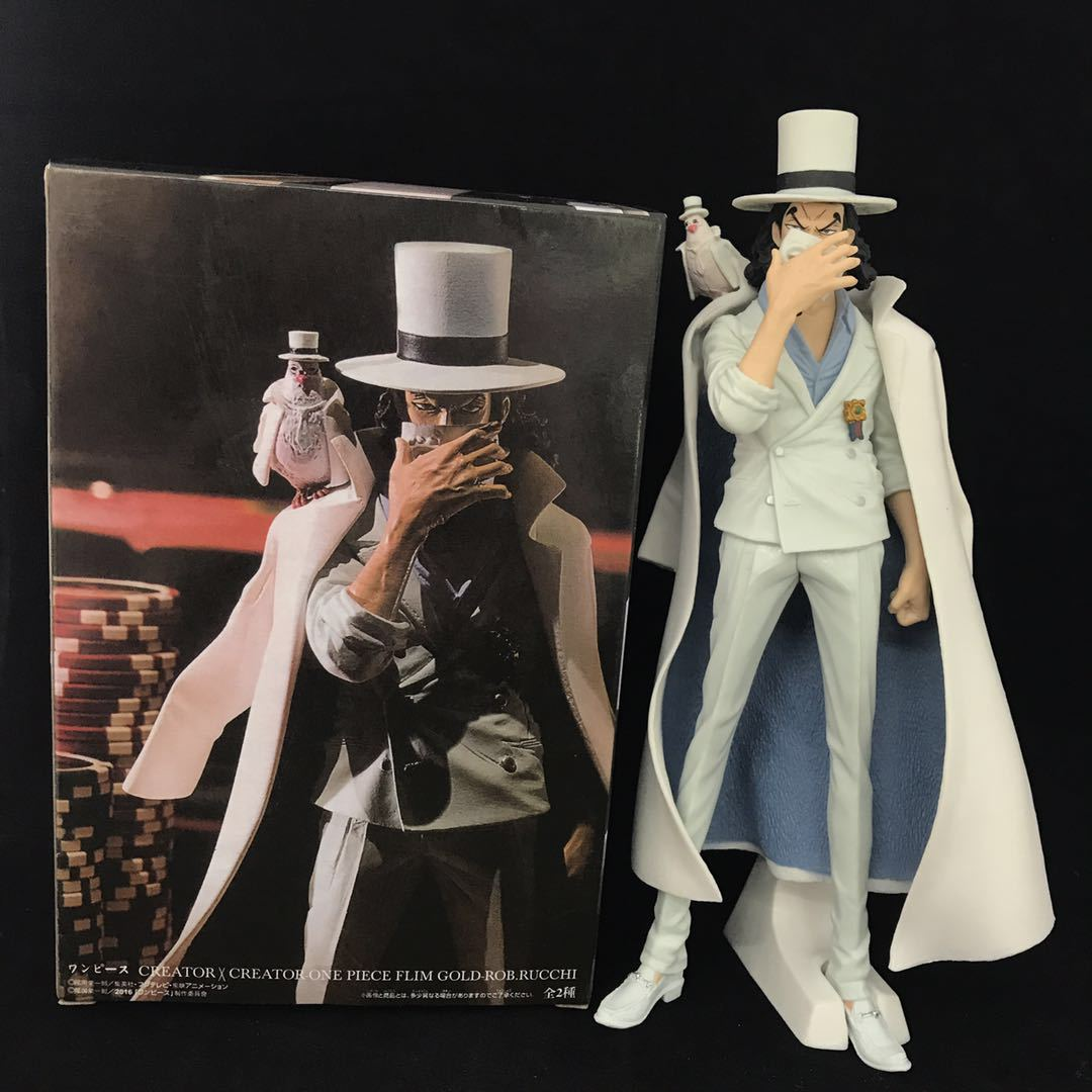 XINDUPLAN One Piece Anime CP9 Rob Lucci Luffy Onepiece New World Action Figure Toys 20cm PVC Collection Model 1096 anime one piece dracula mihawk model garage kit pvc action figure classic collection toy doll
