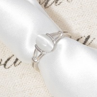 CiNily Authentic 925 Sterling Silver Latesst Twilight Bella Moonstone Wholesale for Women Jewelry Wedding Ring Size 6-10 SR001 2