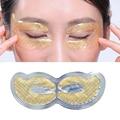2pair Gold Crystal Collagen Eye Mask Eye Patches Masks Dark Circles Pathces Around Eyes Masks Moisturizing Face Care Mask