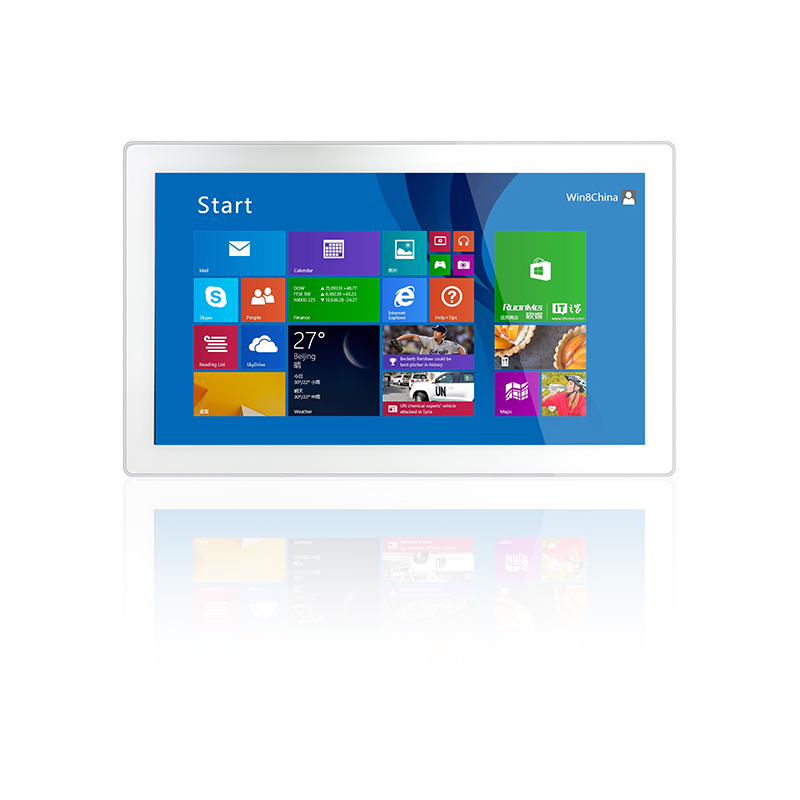 10/10.4/12/15/17/18.5/21.5 Inch Waterproof Embedded Wall Mounted Touch Screen Industrial All In One Panel Pc