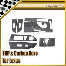 Car Styling For Lexus IS250 Carbon Fiber Interior Dash Set (Left Hand Drive)