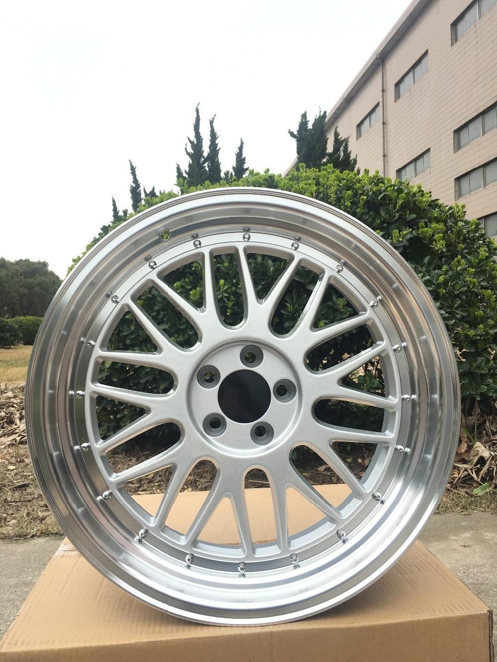 4 New 18x8 5Rims wheels ET 35mm CB 73 1mm Alloy Wheel Rims W882